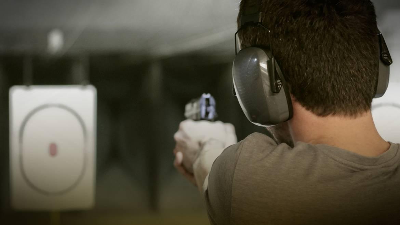 Aufbautraining: Schießen mit der Pistole