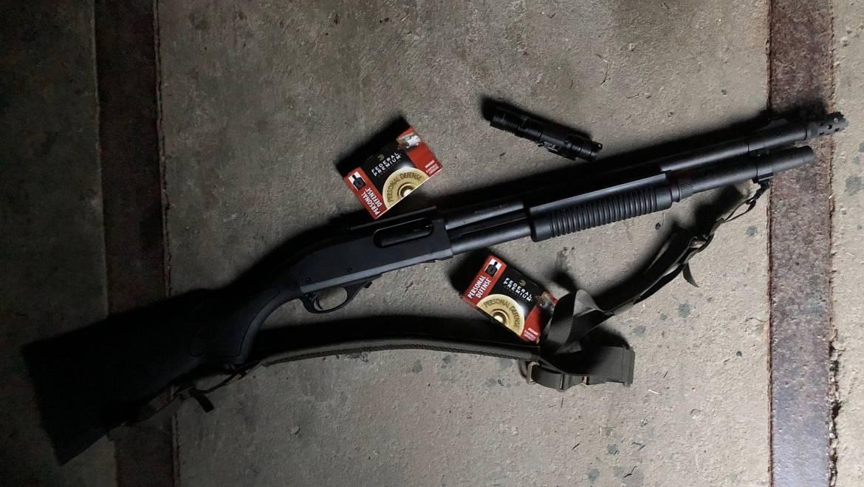 Aufbautraining: Schießen mit der Shotgun